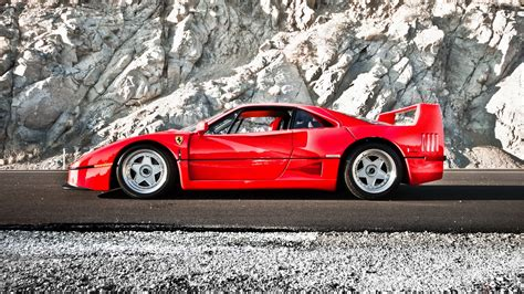 slammed ferrari f40 ferrari full hd wallpaper and background 1920x1080 id
