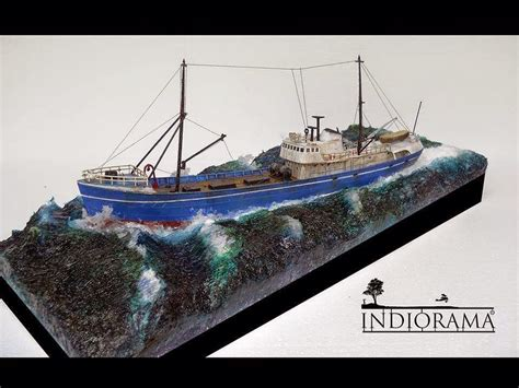 sport fishing boat scale model 1 142 northsea fishing trawler revell by kiss imre