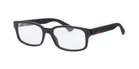 gucci 0012o black eyeglasses