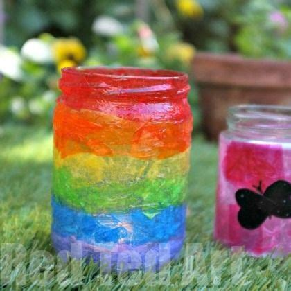 Tissue Paper Lantern Craft - best 25 tissue paper lanterns ideas on tissue