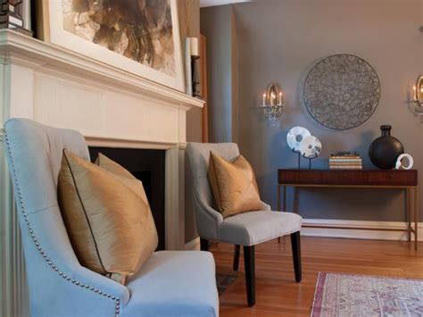 transitional style bedroom in brown with blue a bold photo page hgtv