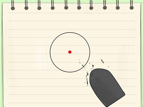 Kompas Mistar 1 3 cara untuk mencari pusat lingkaran wikihow