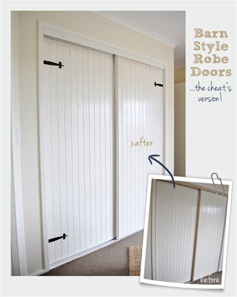 Barn Style Closet Doors The Painted Hive Converting Bi Folds To Barn Doors The