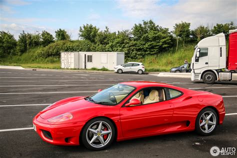 first ferrari price ferrari 360 modena 13 august 2016 autogespot
