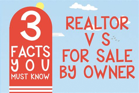 how to be a realtor facts about fsbo 3 facts realtors must know infographic