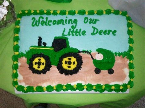 Deere Baby Shower Cakes by Baby Shower Cake Deere All Baby Stuff