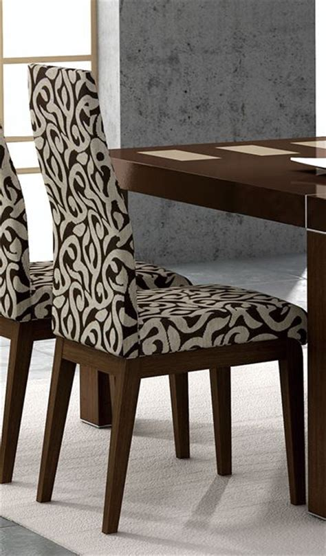 dining room chairs fabric irene contemporary fabric dining room chair lubbock texas