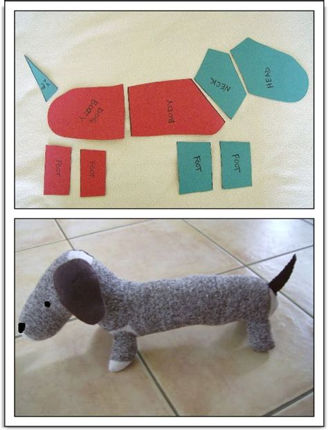 pattern for dog socks sock monkey style dachshund tutorial patterns