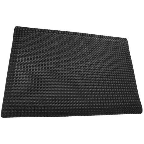 Kitchen Mat Vinyl Rhino Anti Fatigue Mats Reflex Glossy Black Domed Surface