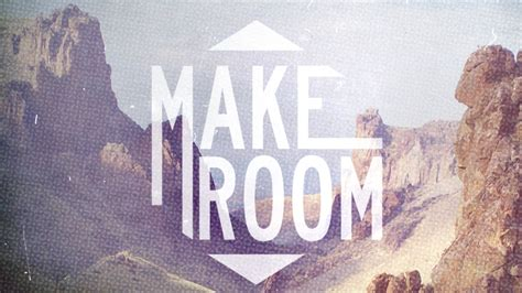 the make room make room open resources