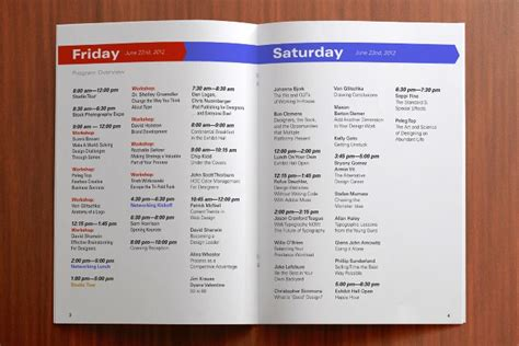 template for program booklet for event 39 best images about design conference schedule on