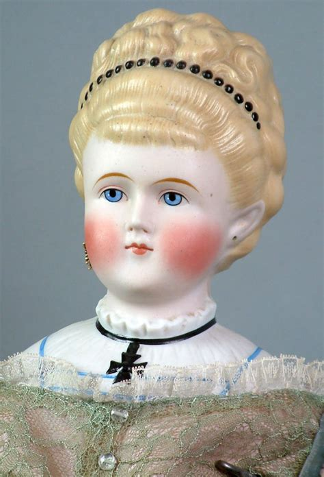 what is a parian doll superb 29 quot antique parian doll with elaborate updo