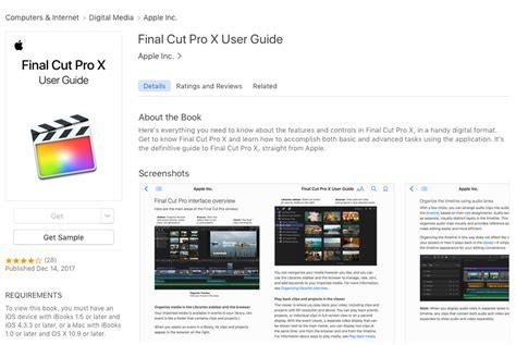 final cut pro user guide how to download the apple final cut pro x user manual u