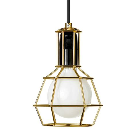 Design House Stockholm Gold Work L | design house stockholm design work lamp gold nordic new