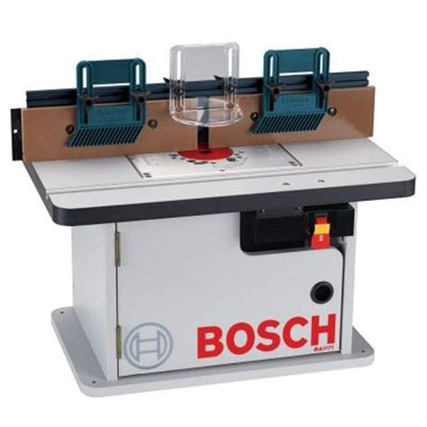 bosch laminated router table with cabinet ra1171 the