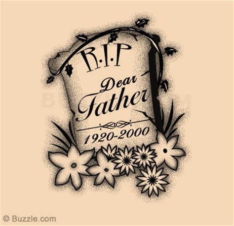 rest in peace dad tattoo designs rip tattoos