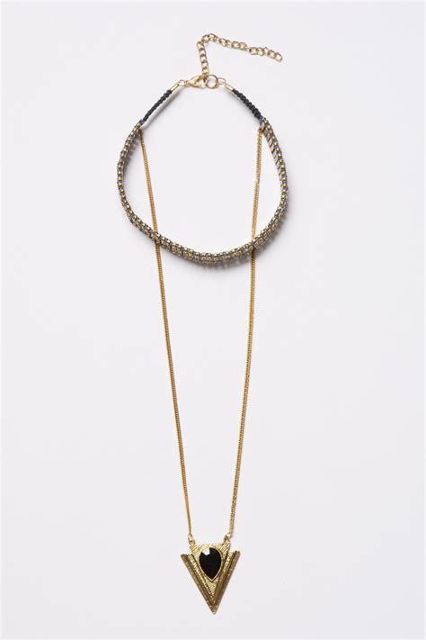 Pendant Choker pendant choker chain necklace