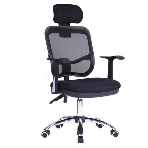 Headrest For Office Chair by Optima Office Chair Mesh Adustable Recline Headrest