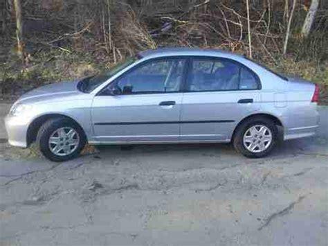 2004 Honda Civic 4 Door by Purchase Used 2004 Honda Civic Dx Sedan 4 Door 1 7l All