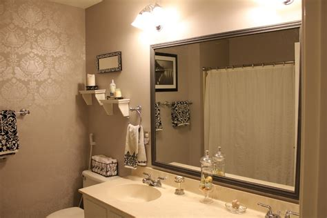 frame large bathroom mirror installing framed bathroom mirrors stylish framed