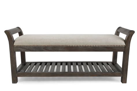 bed bench furniture a r t furniture st germain bed bench mathis brothers