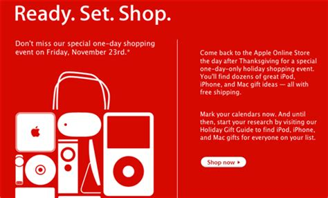 Are You Ready For Shopping by Apple Teases Us Black Friday Discounts Again Ars
