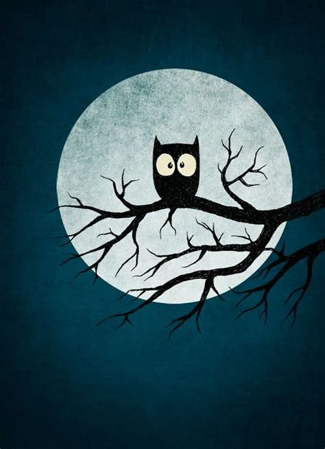 printable owl moon surprised owl in moonlight owl art pinterest owl