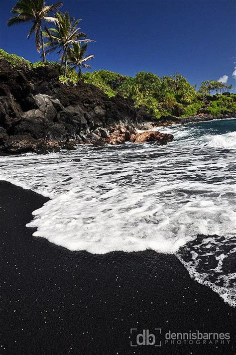 black sand beach maui 17 best images about black sand beaches on pinterest