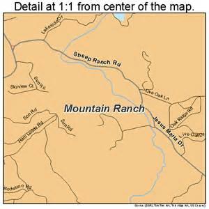 mountain california map mountain ranch california map 0649628