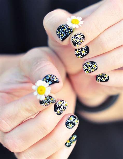 Easy Nail Flower Designs For Beginners