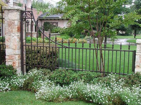 ornamental iron gates lc fence  gate