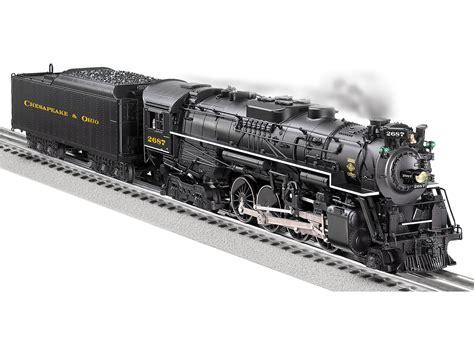 steam locomotive diagrams of the chesapeake ohio railroad chesapeake ohio legacy scale berkshire 2 8 4 steam locomotive 2687