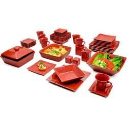 dinnerware set square kitchen banquet 45 dinner