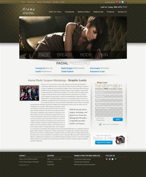 hd website templates free arama free plastic surgeon website vector graphics