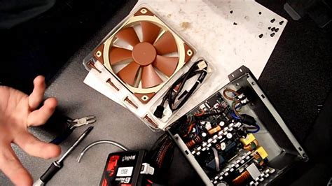 replace pc power supply fan how to change the fan of your power supply