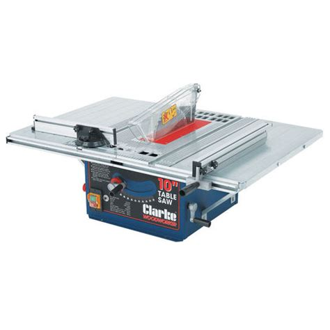 bench saw machine clarke cts10d 10 quot 254mm table saw machine mart