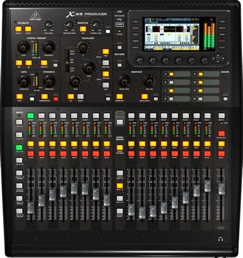 X32 Rack Dimensions by Behringer Expands X32 Mixer Line Synthtopia