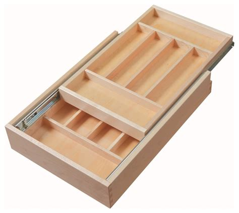 Utensil Drawer Organizer by Century Components Dtier14pf Ff Tier Silverware