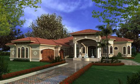 mediterranean house plans luxury one story mediterranean house plans luxury