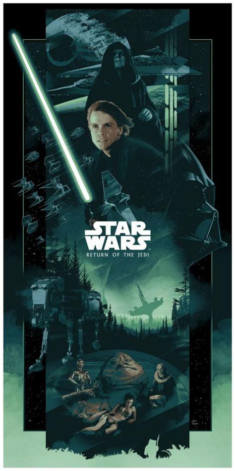 cool art  original star wars saga  john guydo