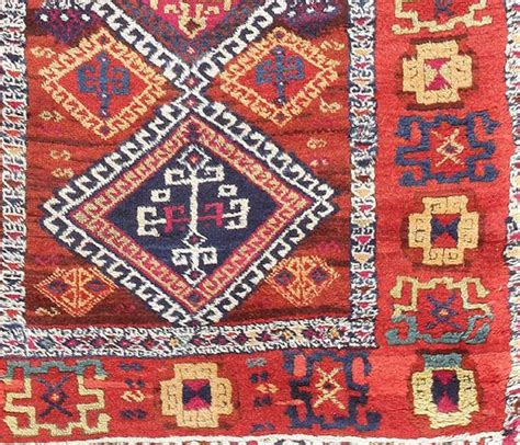 Turkish Tribal Rugs by Antique Tribal Turkish Yuruk Rug For Sale At 1stdibs