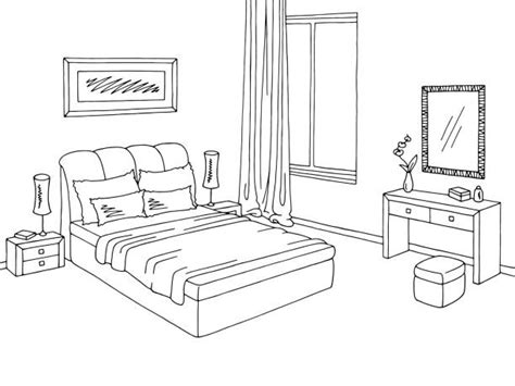 Black And White Interior Decor Bedroom Clipart Black And White Www Redglobalmx Org