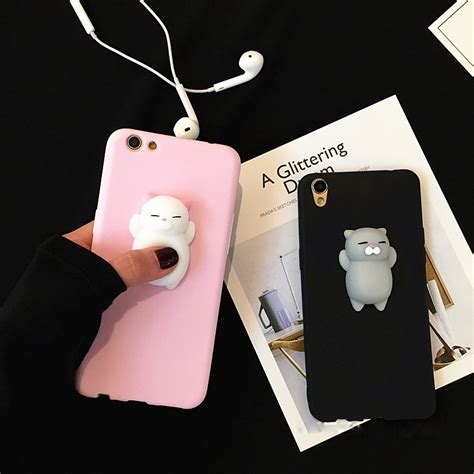 Iphone 7 Lovely Cat Lover Rivet Tassel Soft Casing Cover Bumper best cell phone cases and accessories store