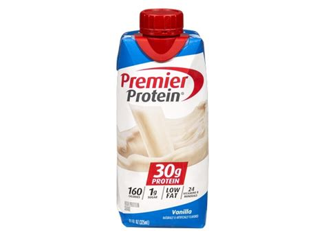 Consumer Reports Detox Shakes by Premier Protein High Protein Shake Vanilla Healthy Snack
