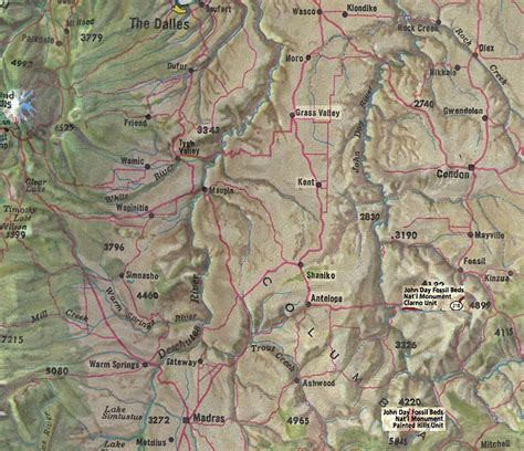 shaniko oregon map photo essay field trip