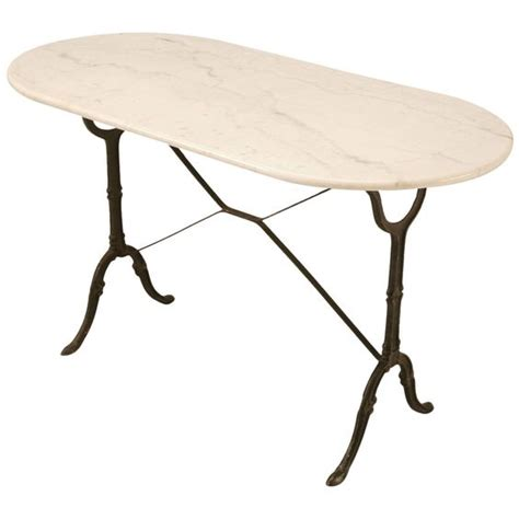 Vintage Marble Bistro Table Vintage Bistro Table With Marble Top Tops Marble Top And Modern