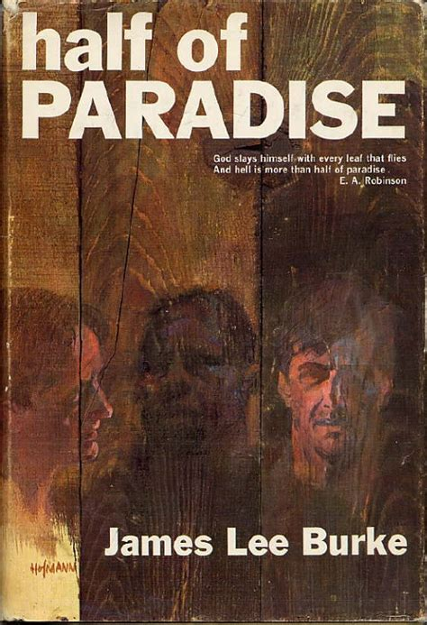 half of paradise james lee burke first edition
