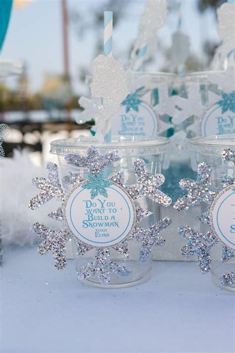 winter birthday decorations kara s ideas frozen winter themed