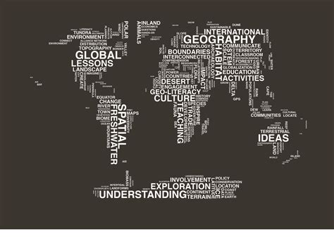 typography map typography map image black background national geographic education