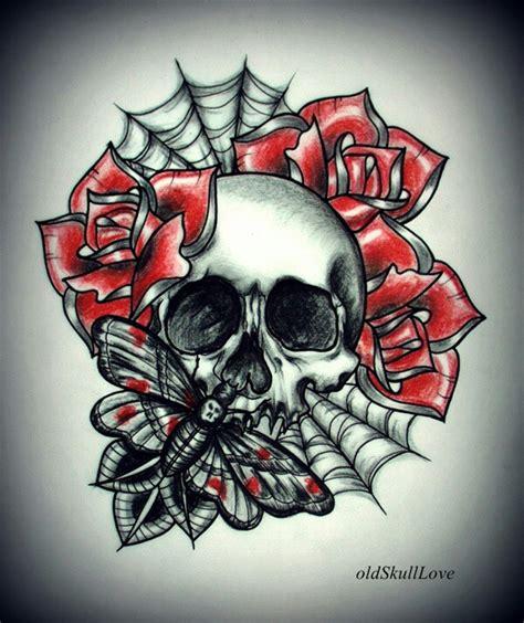100 simple skull tattoo flash designs use the form
